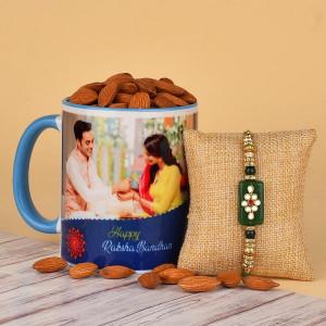 Rakhi with Personalised Mug