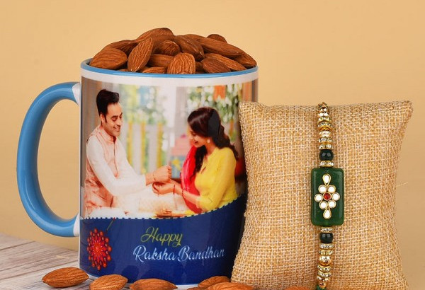 Rakhi with Personalised Mug