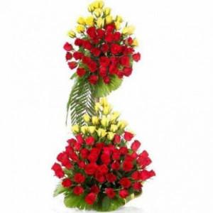 Multi-tier Flower Arrangement