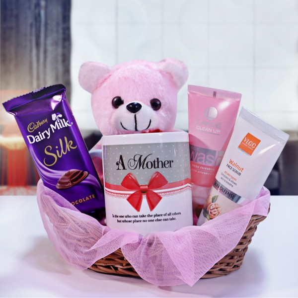 A Gift Hamper of Skincare Products