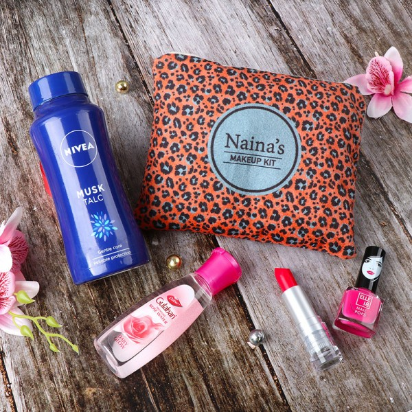 Customized package of cosmetics