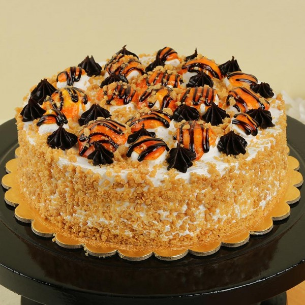 Exotic Butterscotch Cake