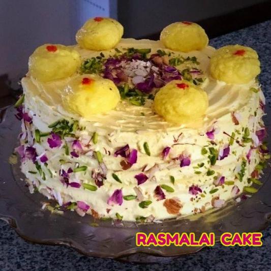 Rasmalai Cakes