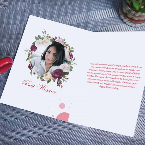 holi greeting card