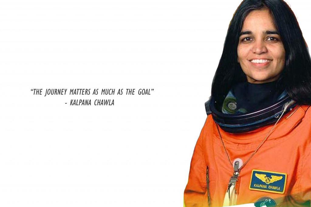First woman on space
