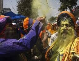 holi celebration in punjab