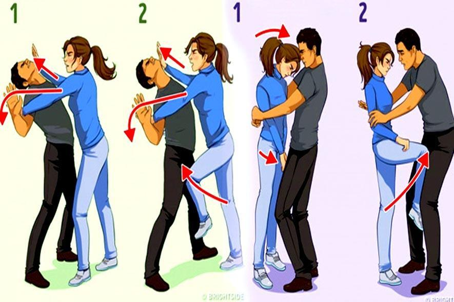 tips and tricks for self defense