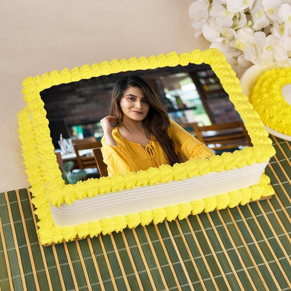 personalize photo cake