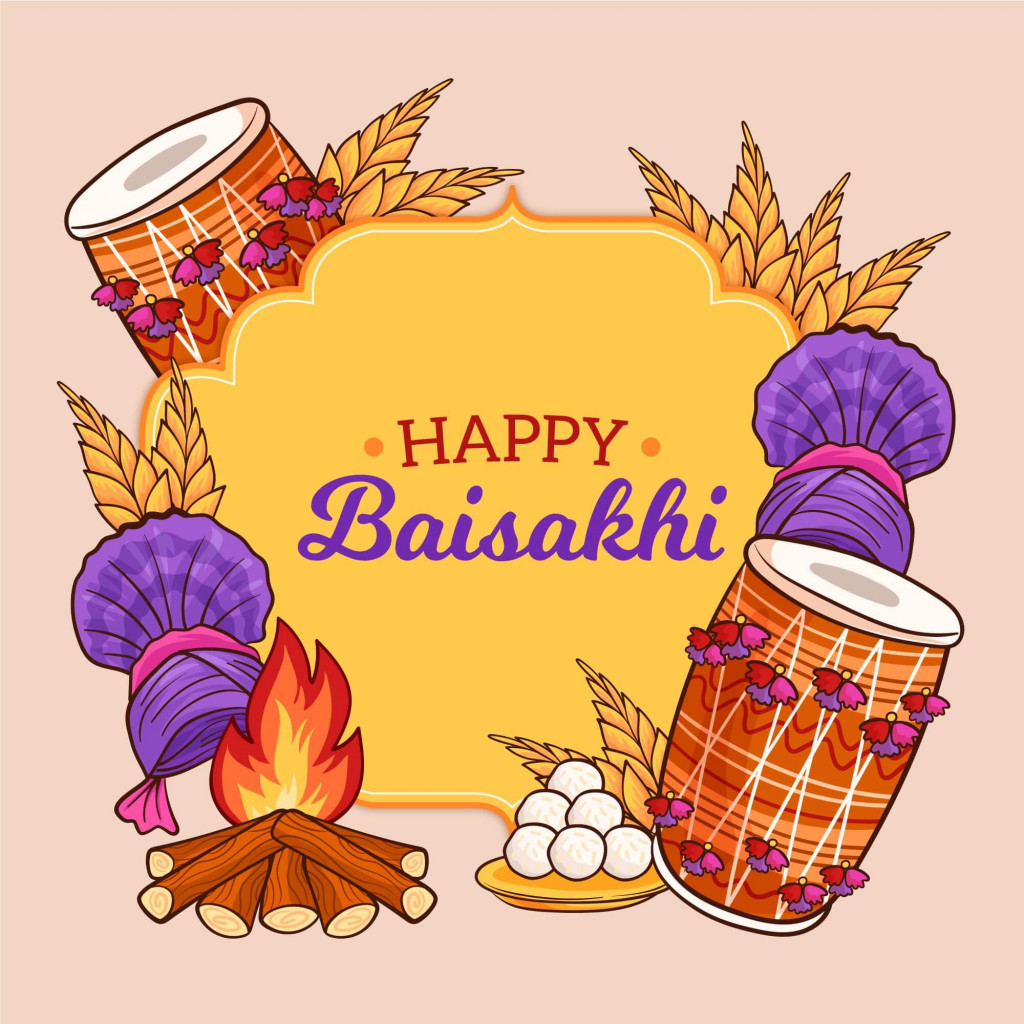 Sharing Gifts on Baisakhi