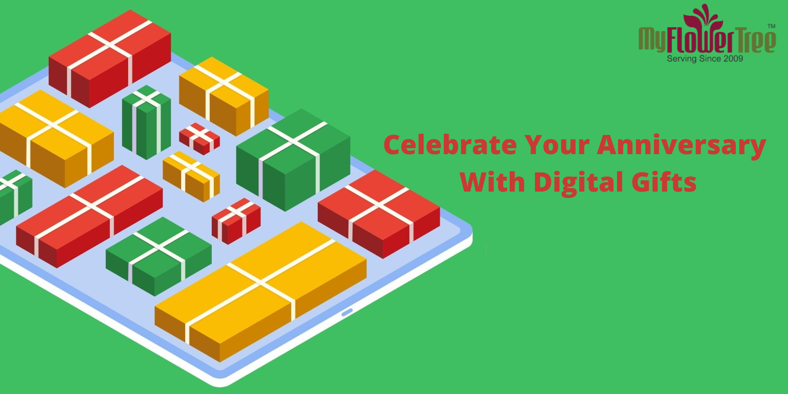 Celebrate Your Anniversary With Digital Gifts-MyFlowerTree
