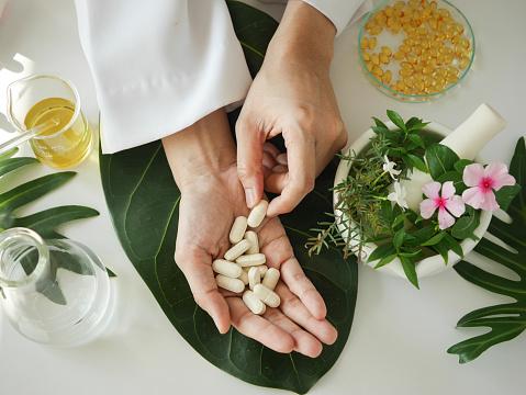 Making Herbal Medicine