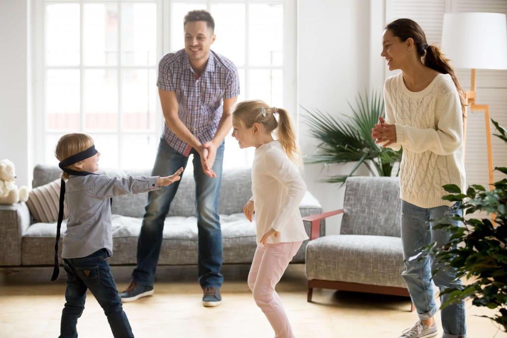 Enjoy a Game night with family