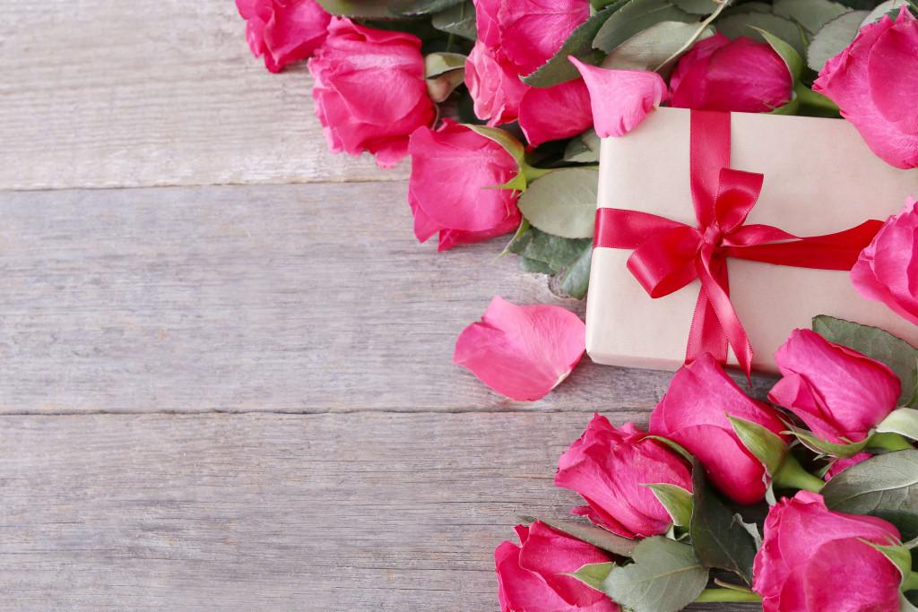 celebration with flowers