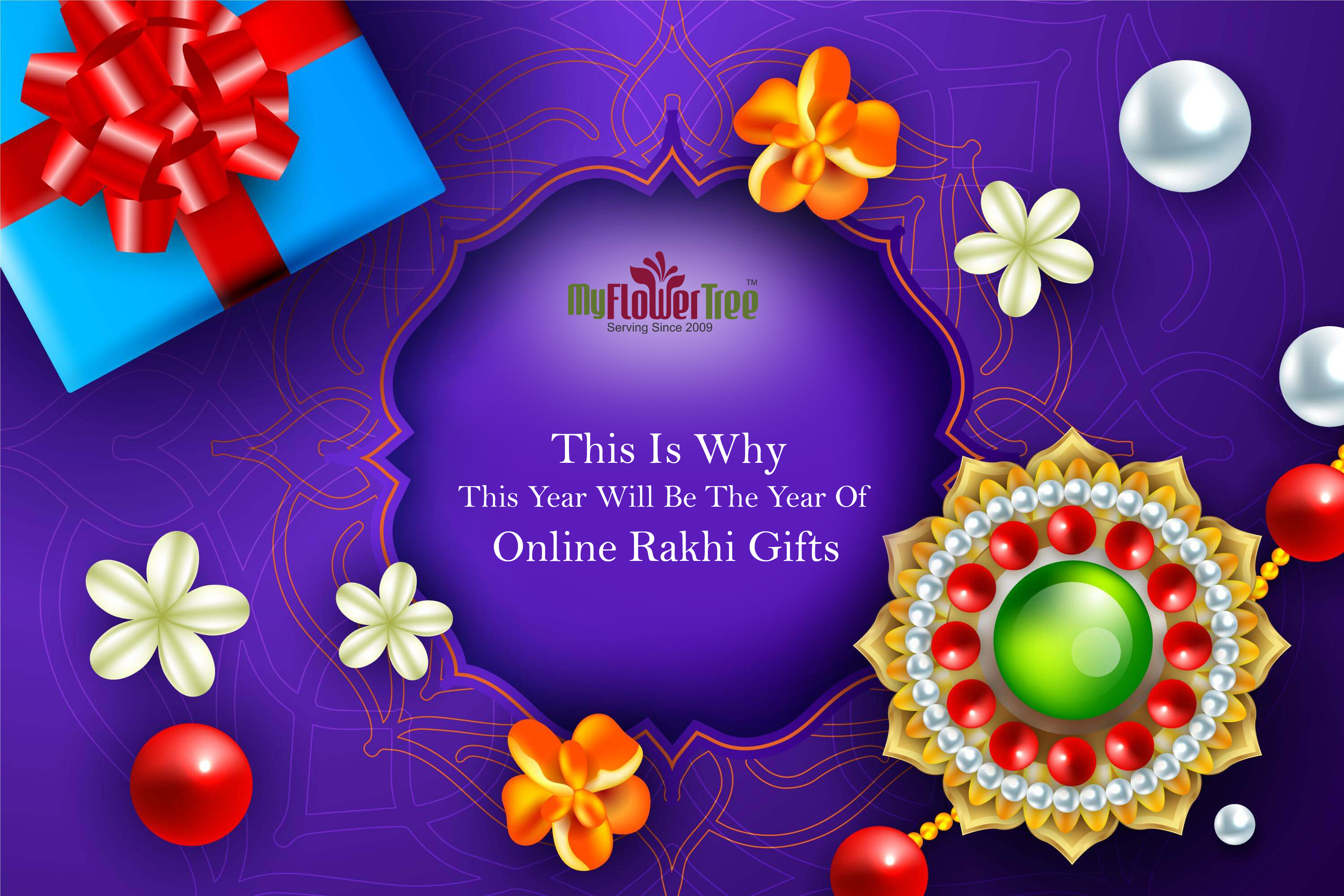 This is why this year will be the year of online rakhi gifts