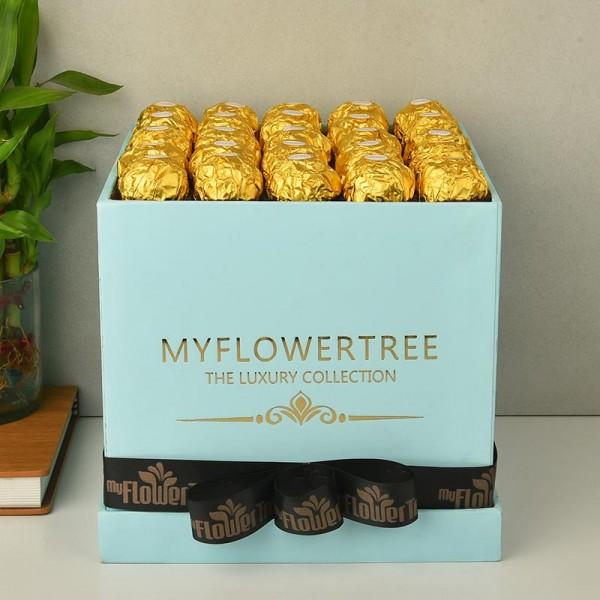 Box of chocolate as rakhi gifts