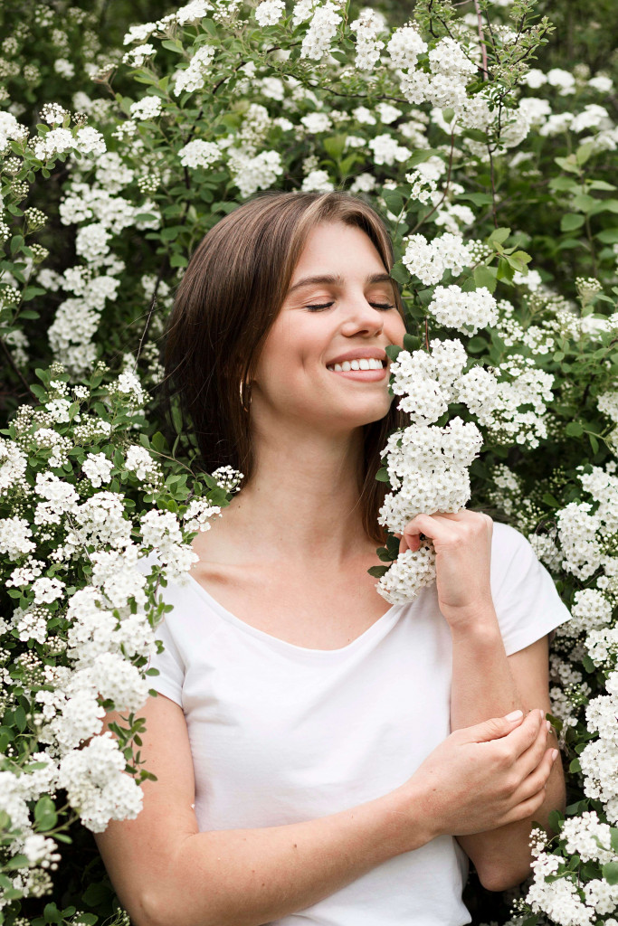 flowers makes you happy