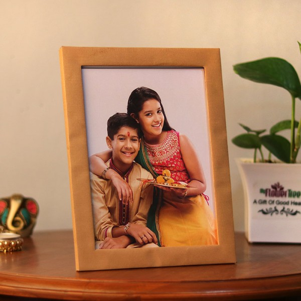 rakhi photo frame for sister
