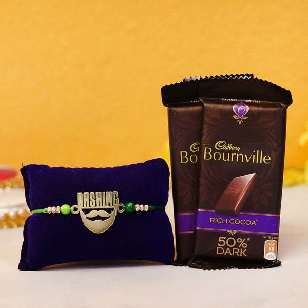 rakhi with chocolate gifts online fromMyFlowerTree
