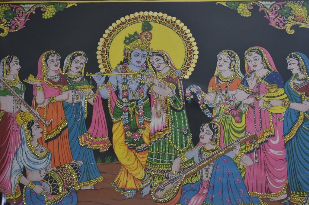 lord Krishna wives