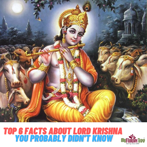 Top 6 Facts About Lord Krishna You Probably Didn't Know