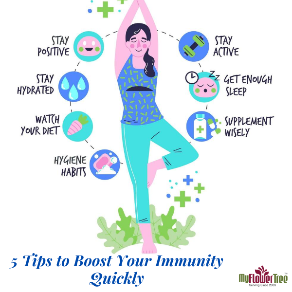5 Tips to Boost Your Immunity Quickly