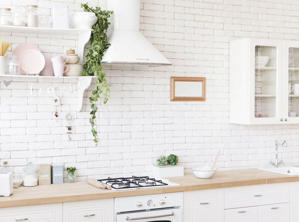 place plants in the kitchen