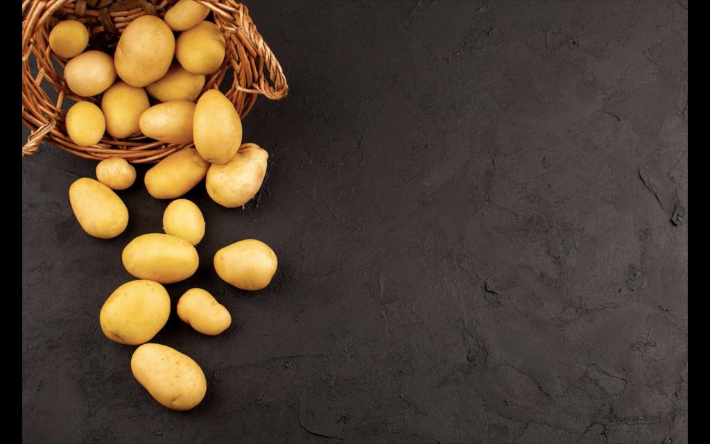 use potatoes for dark circle
