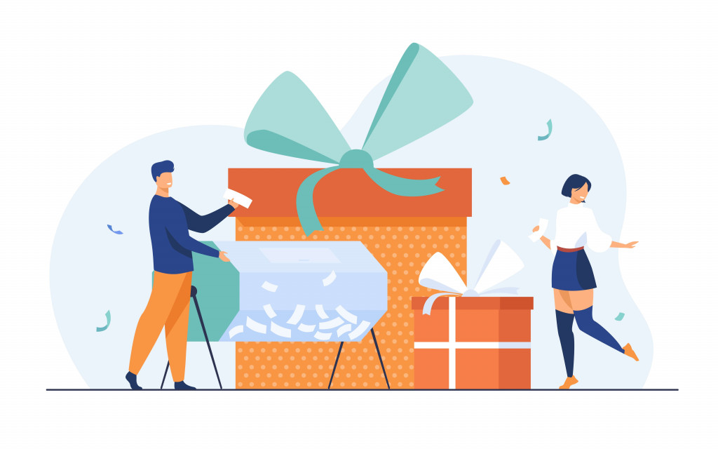 send special gifts to partner