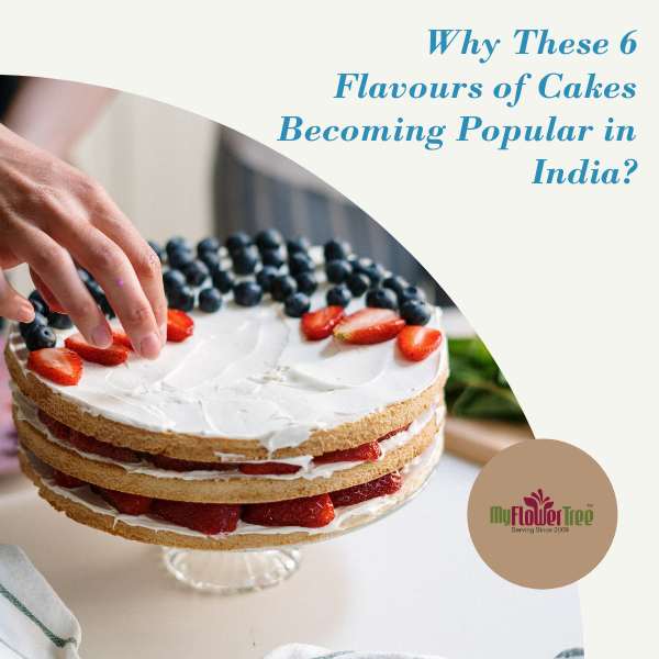 cakes becoming popular in india