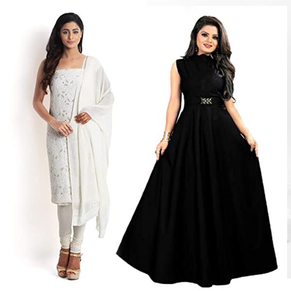 Avoid White Or Black Color Dress