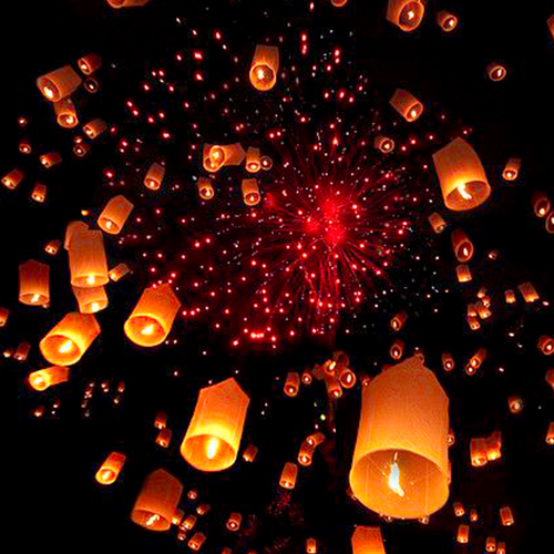 Paper Lanterns to Brighter Moments