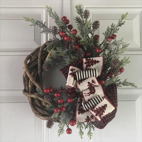 Décor Your Door With Holiday Wreaths