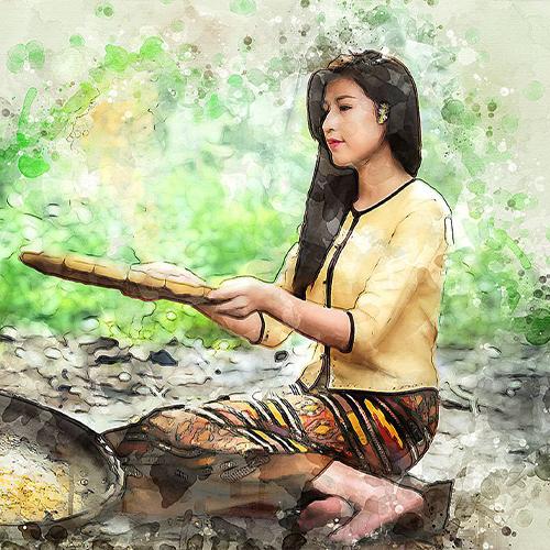 Watercolor masterpiece