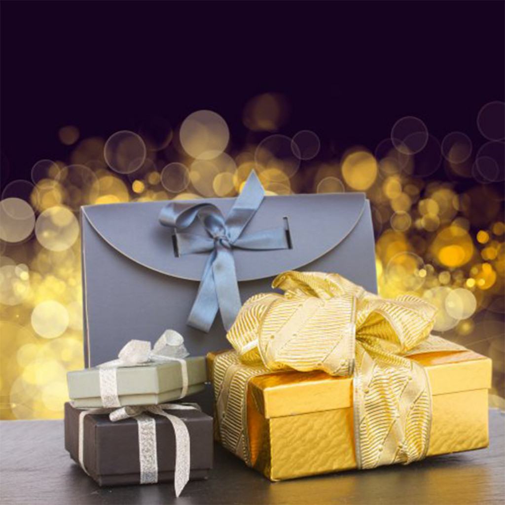 These gifts are adorned with a personal touch