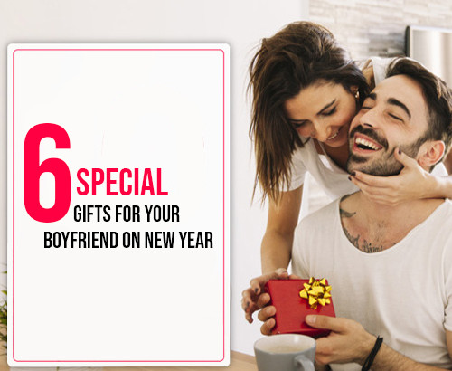 Gifts for Your Boyfriend on New Year