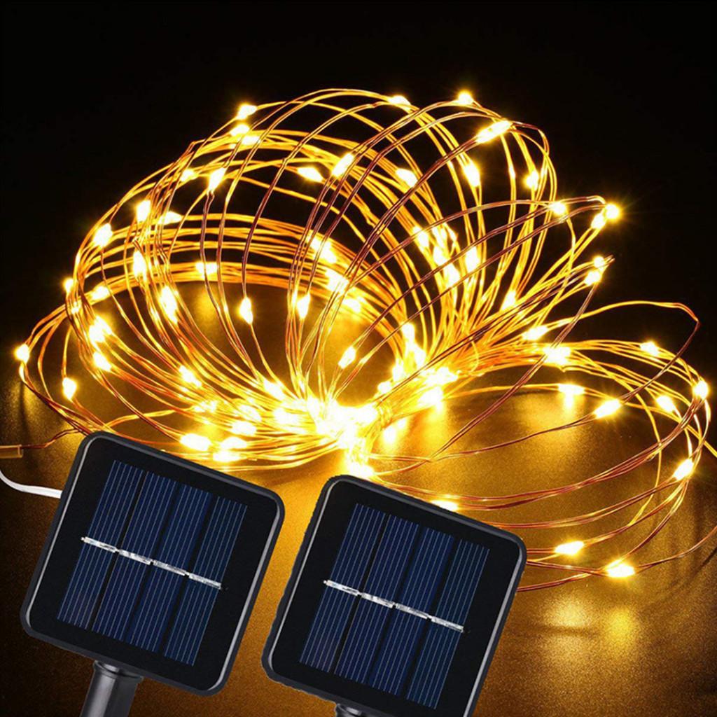 Use Solar powered fairy lights