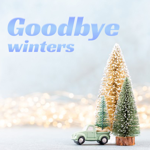 Goodbye winters
