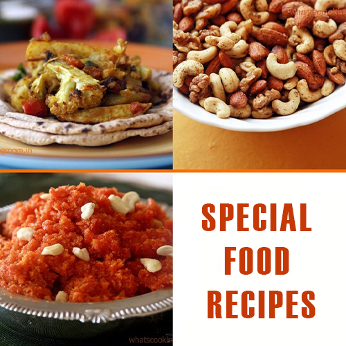 Special food recipes