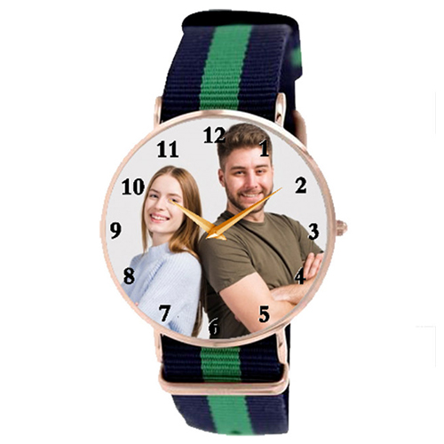 Personalized photo watch