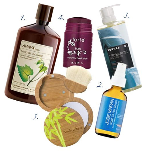 Eco-friendly cosmetic products