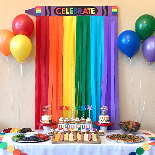 Favorite color birthday party