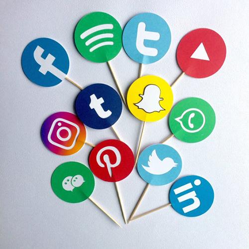 Social Media birthday party