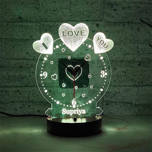 Sent glow of love online