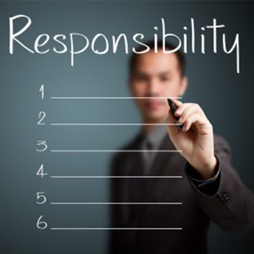 Let them be responsible for future