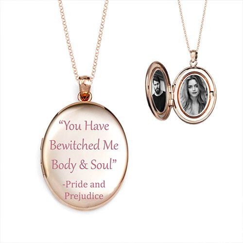 Engrave Love hint with jewel