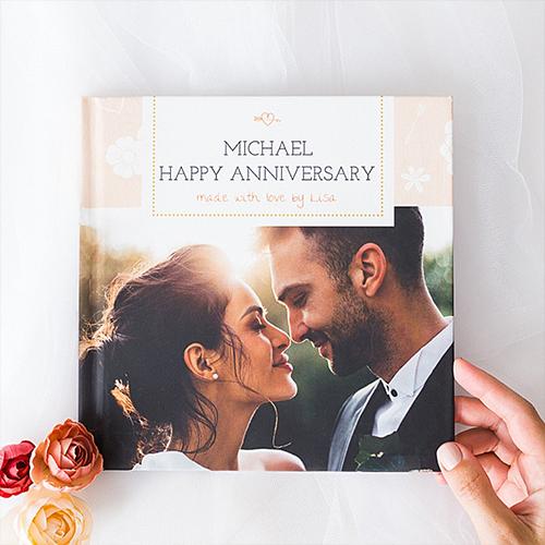 Customize Anniversary Book