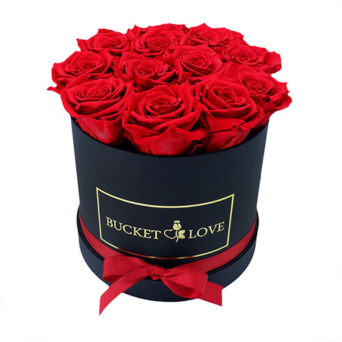 Roses with the Bucket list