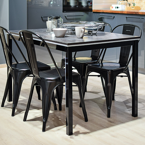 Dining and kitchen set