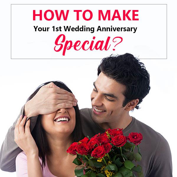 Your 1st Wedding Anniversary
