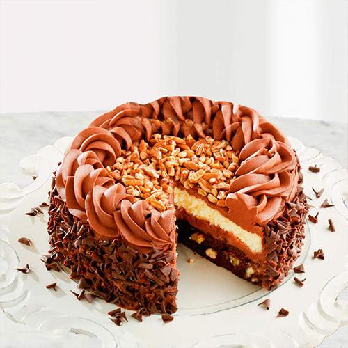 Crunchy Nut Cake